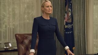 "Robin Wright in ""House of Cards"""