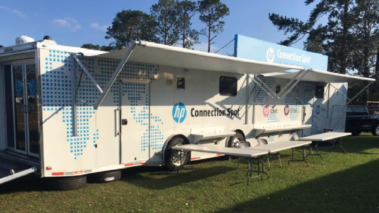 HP Connection Spot is operational in Chattahoochee