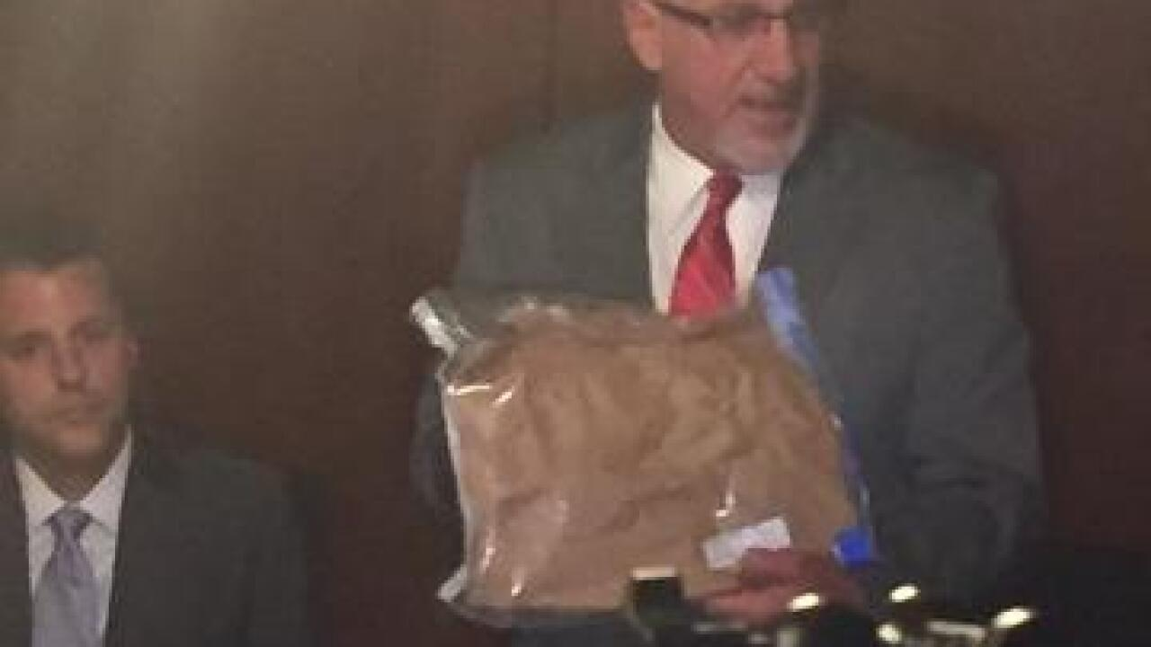 Kane case rape kit evidence bag left on doorstep