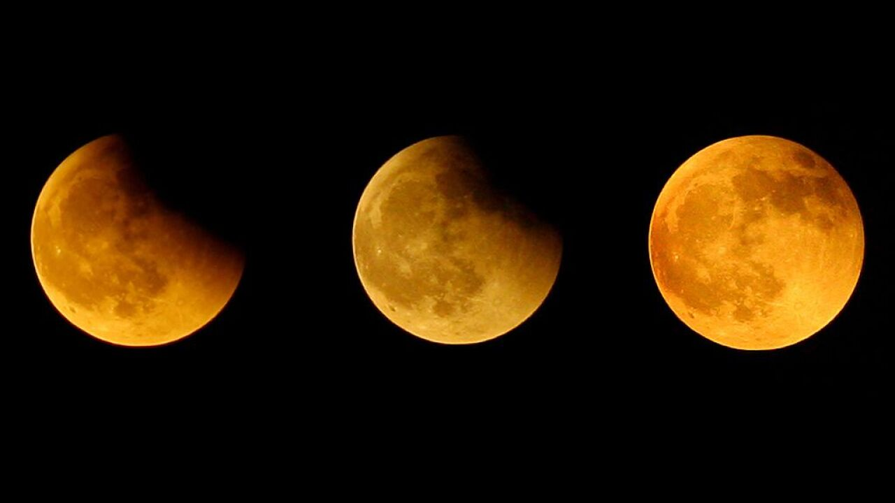 Much of the world will be able to see a partial lunar eclipse Tuesday — just not the US