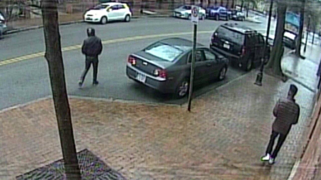 After wife's car stolen in Shockoe Bottom, thieves take husband'scar