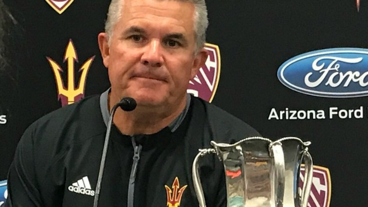 Despite Report Todd Graham Expects To Return As Arizona State