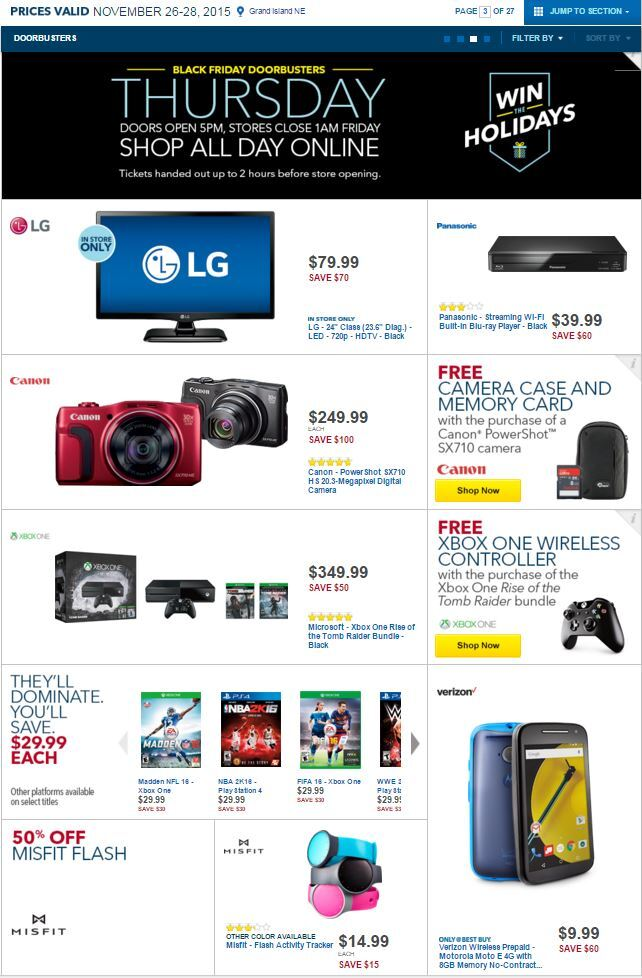 Photos Best Buy Launches Black Friday Deals View All 27 Pages
