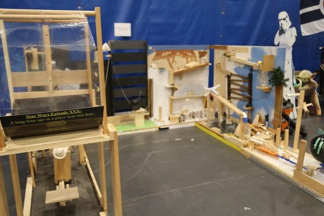 High school students compete in Rube Goldberg Machine contest