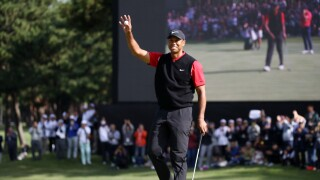 Tiger_Woods_ZOZO Championship - Final Round