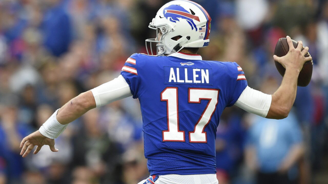 los angeles de85f 9ac5c Buffalo Bills QB Josh Allen in line to start Sunday vs. Jaguars