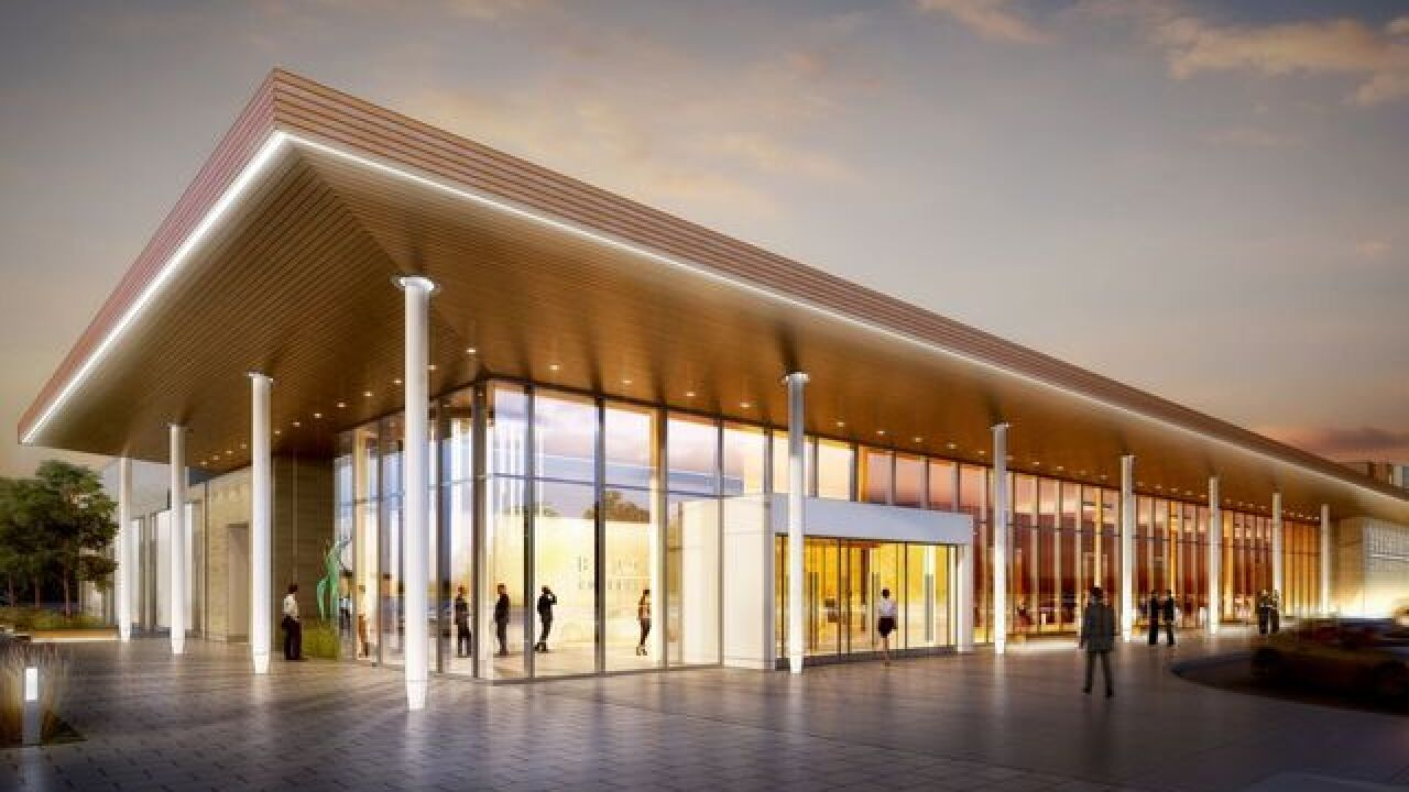 Brookfield reveals new conference center designs