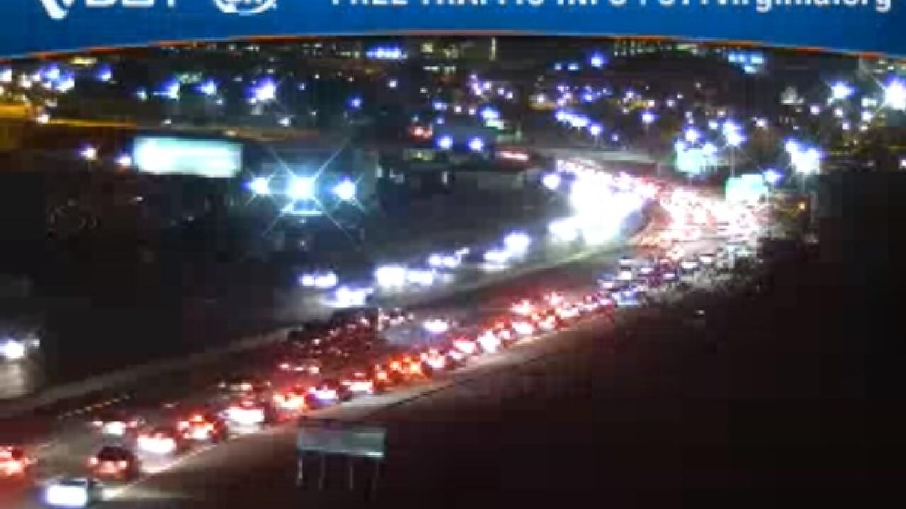 I-95 back open after incident on James RiverBridge