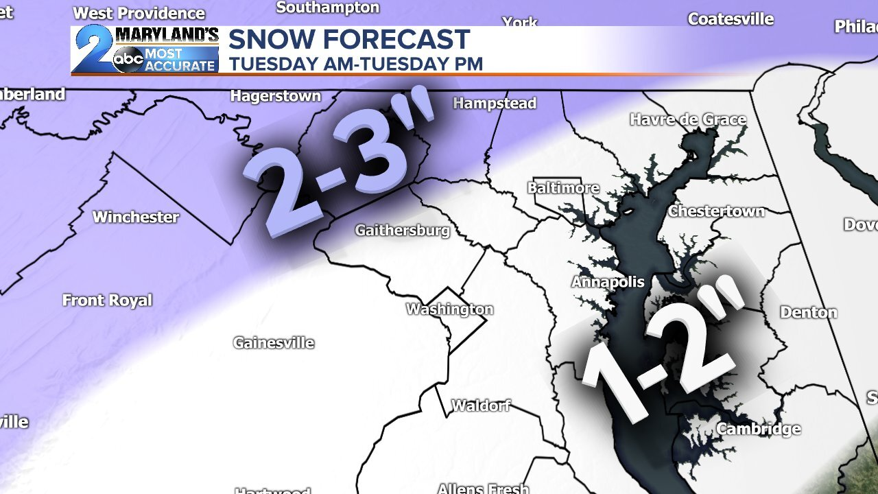 Likely Snow Accumulation