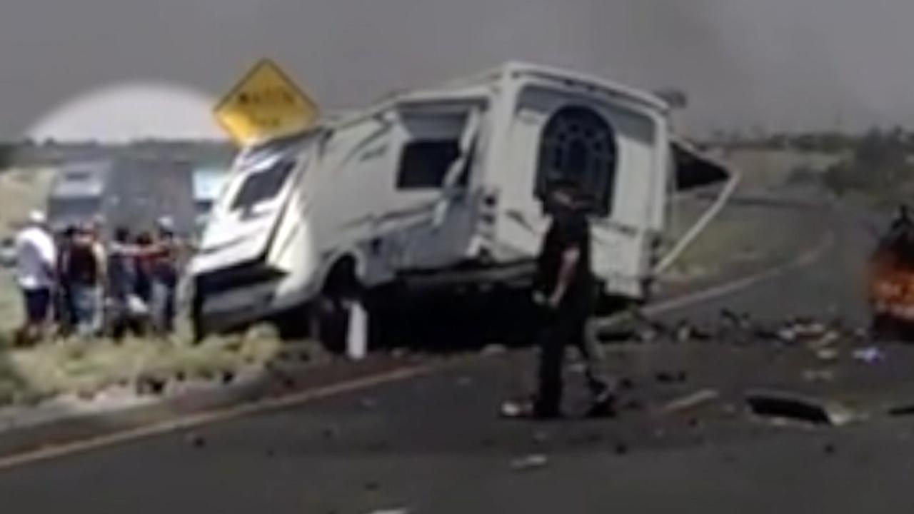 Wrong way crash on I-10