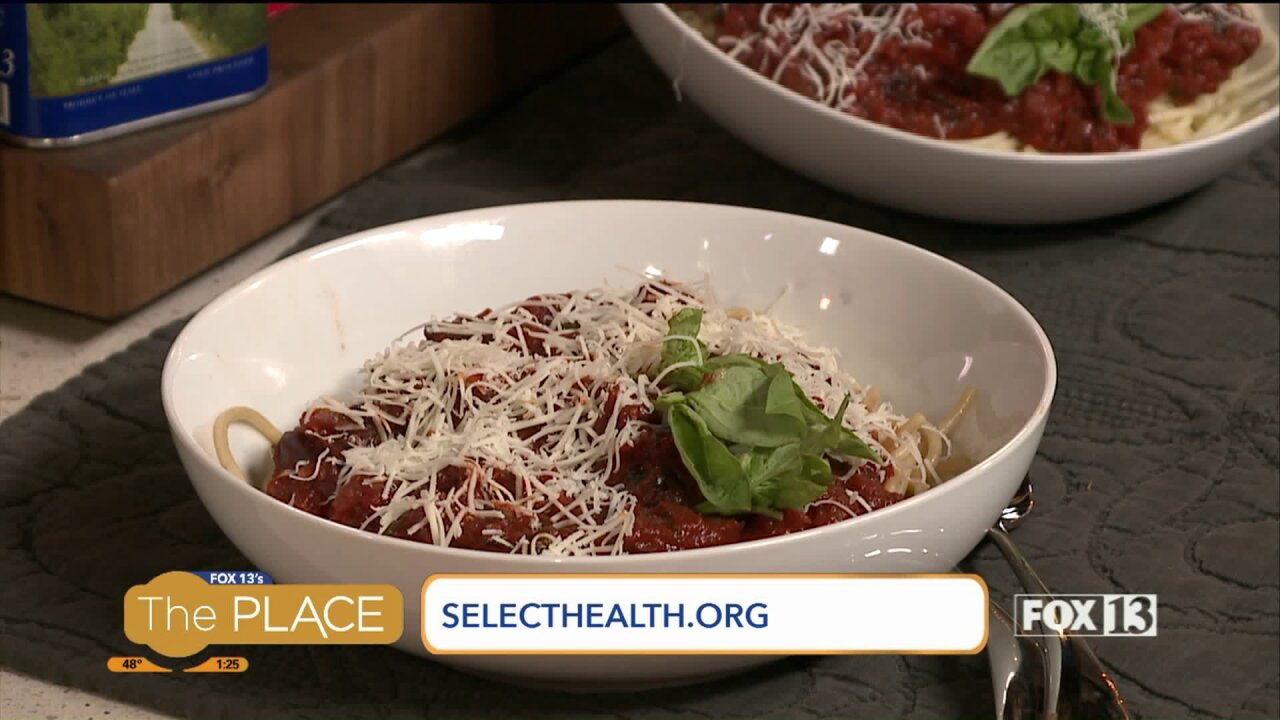Fast and healthy pasta with akick!