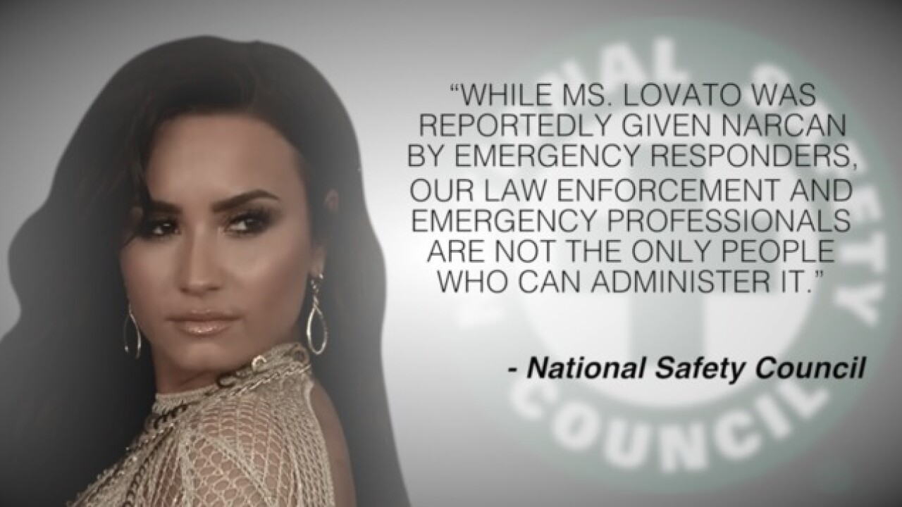 Health officials push to make Narcan more accessible as support pours in for Demi Lovato