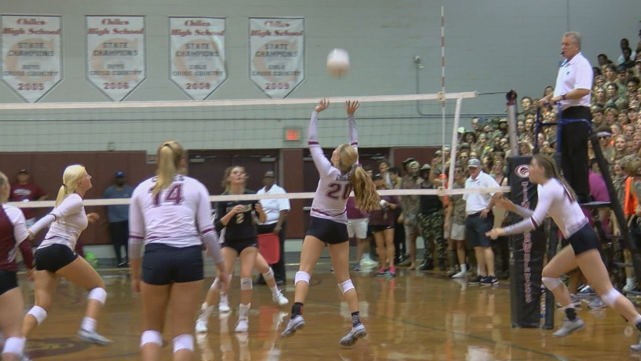 Chiles Volleyball Sweeps Lincoln For Big District Win