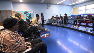 Wheelchairs Against Guns teaches students about consequences of gang life