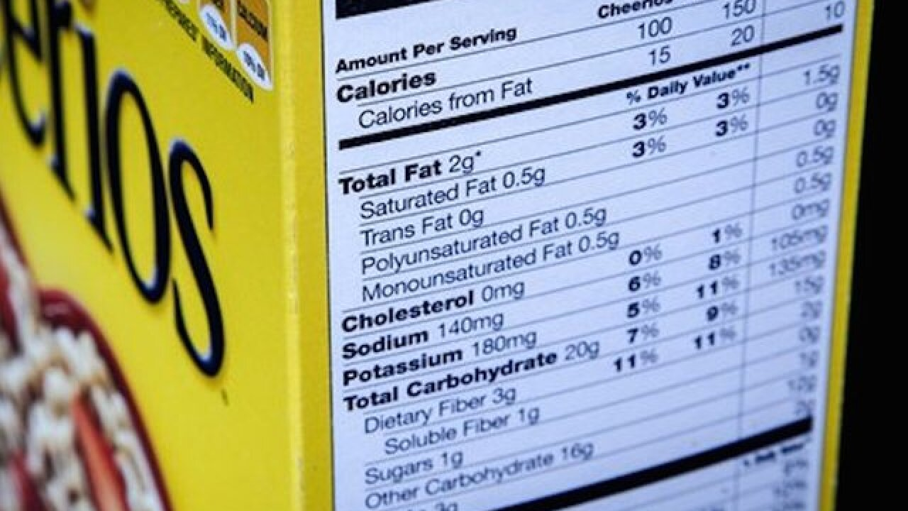 House backs bill to ease calorie labeling