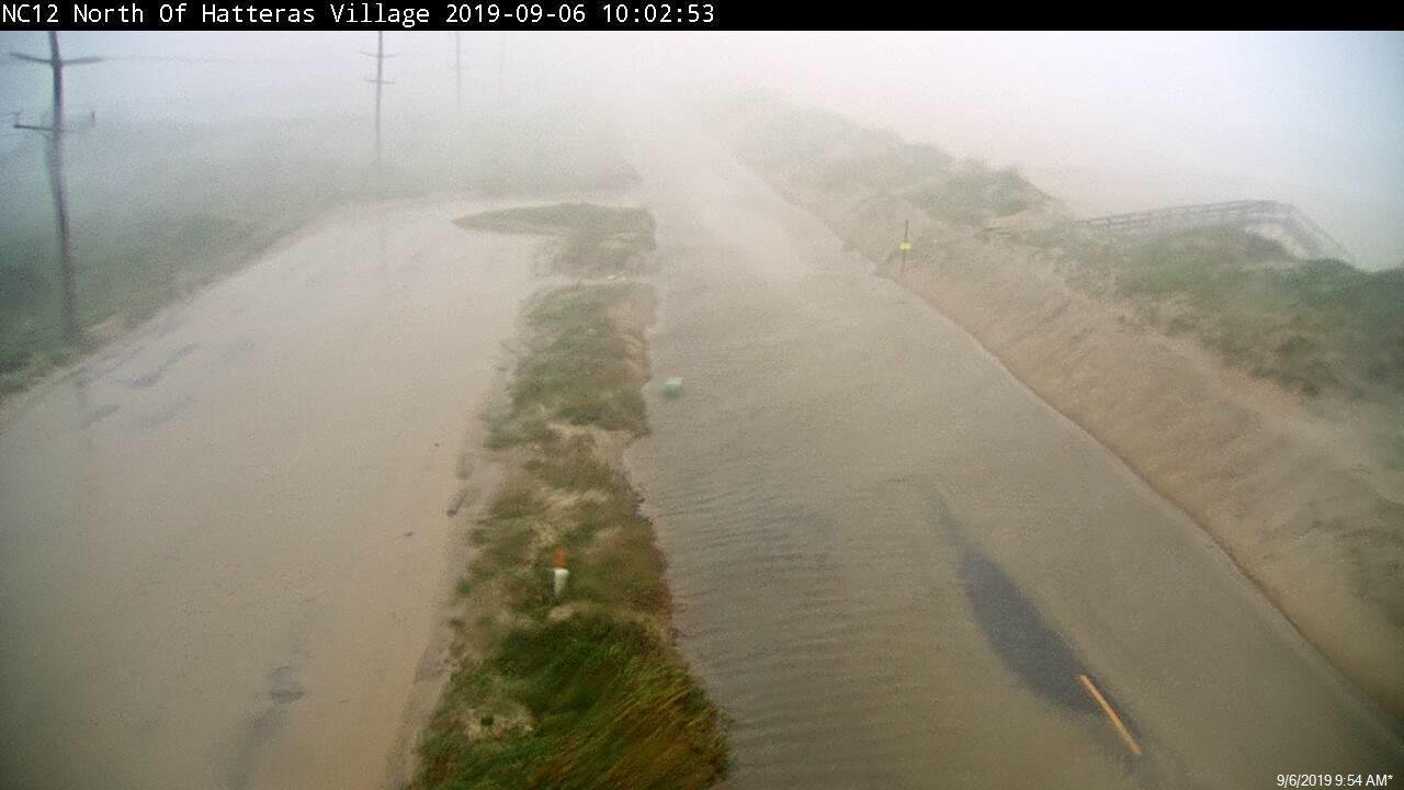 NCDOT aims for November Ocracoke N.C. 12 reopening after Hurricane Dorian damage