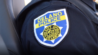 Delano Police Department Logo (FILE)