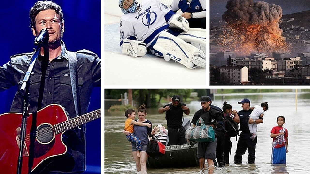 The Week Ahead: Flooding, ISIS and new classics