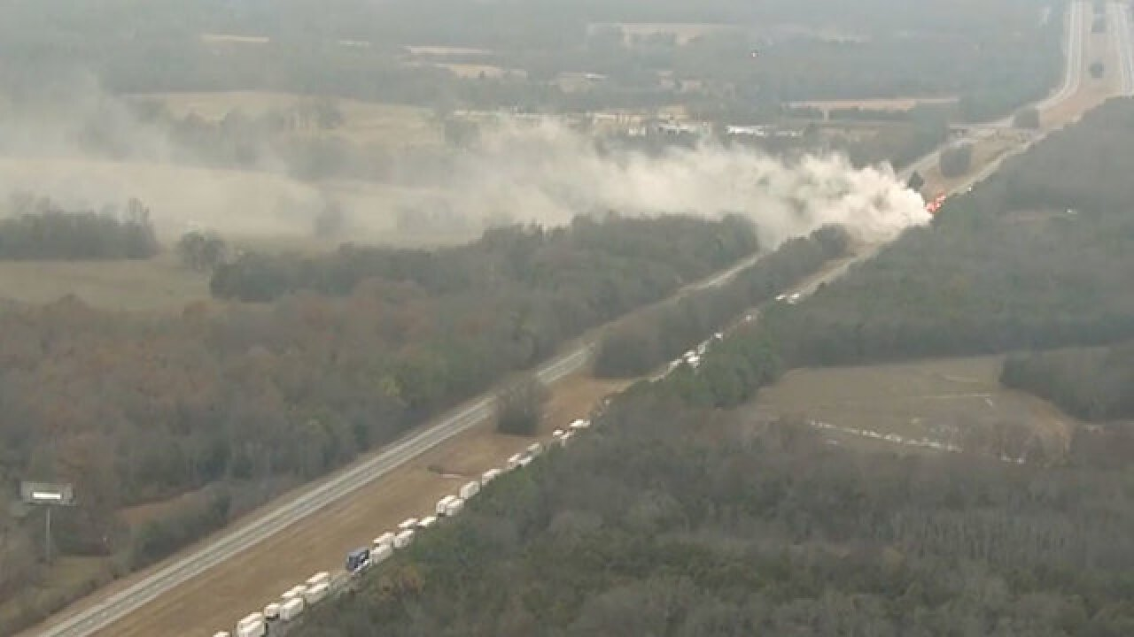 Shelter In Place In Effect After Spill On I-24
