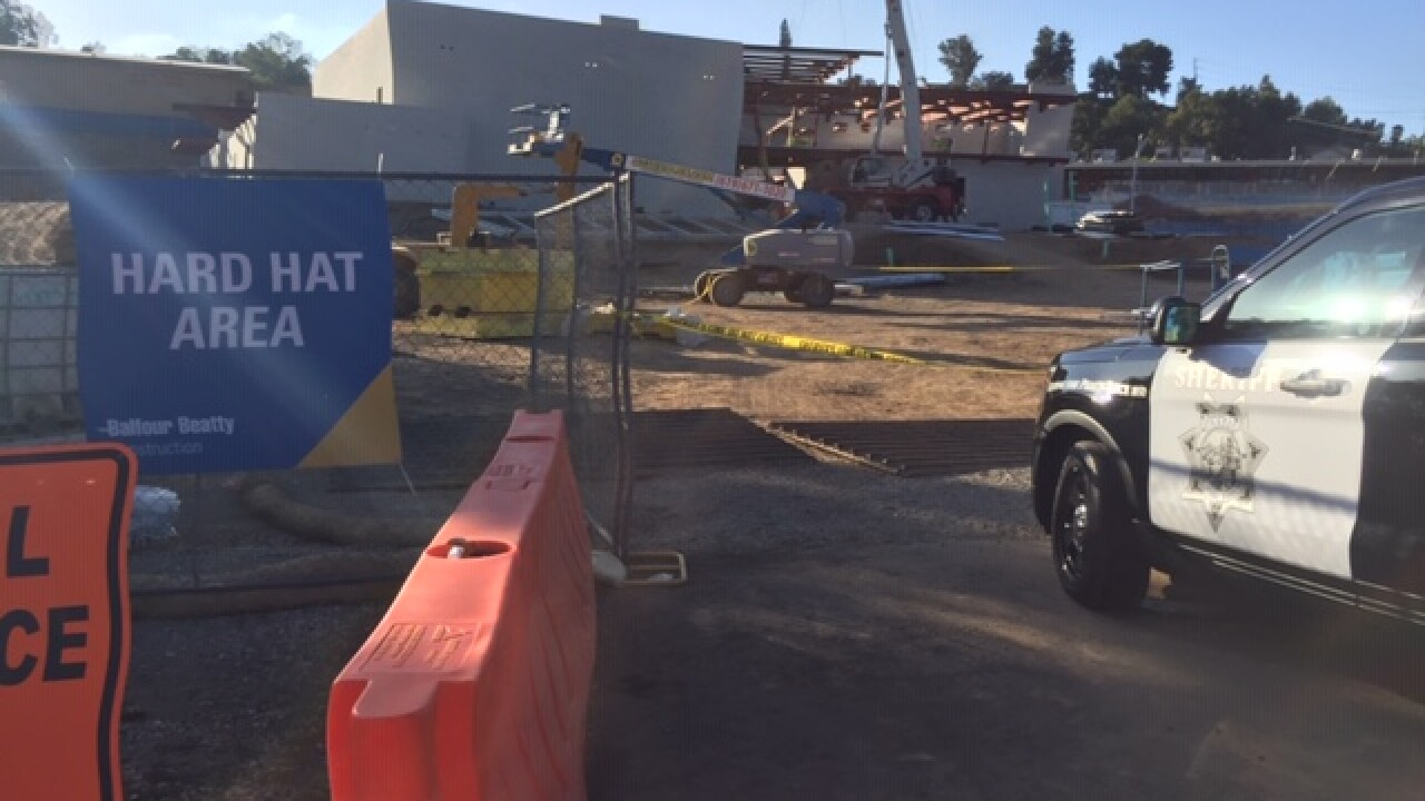 2 injured hours after topping out of new Monte Vista High School facility