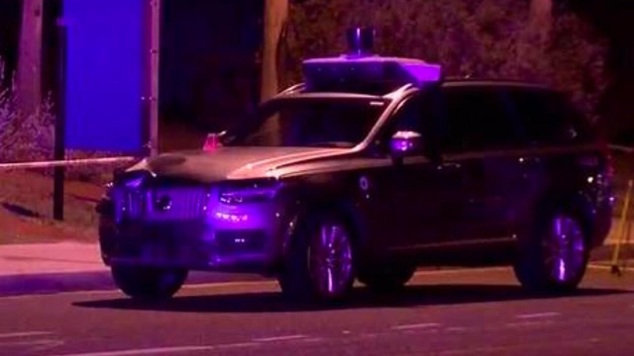 Tempe police investigating Uber crash