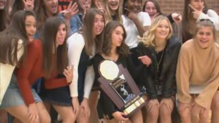 Lewis-Palmer volleyball celebrates 9th overall state championship