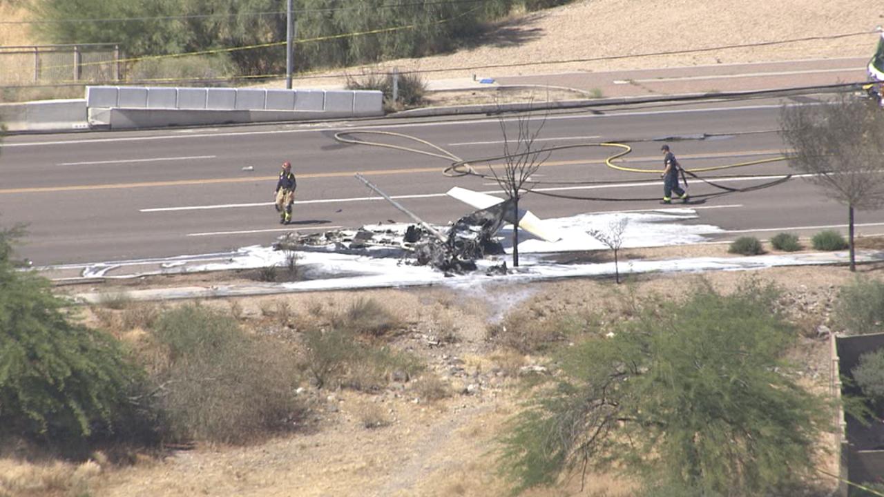 Plane crash Deer Valley Airport