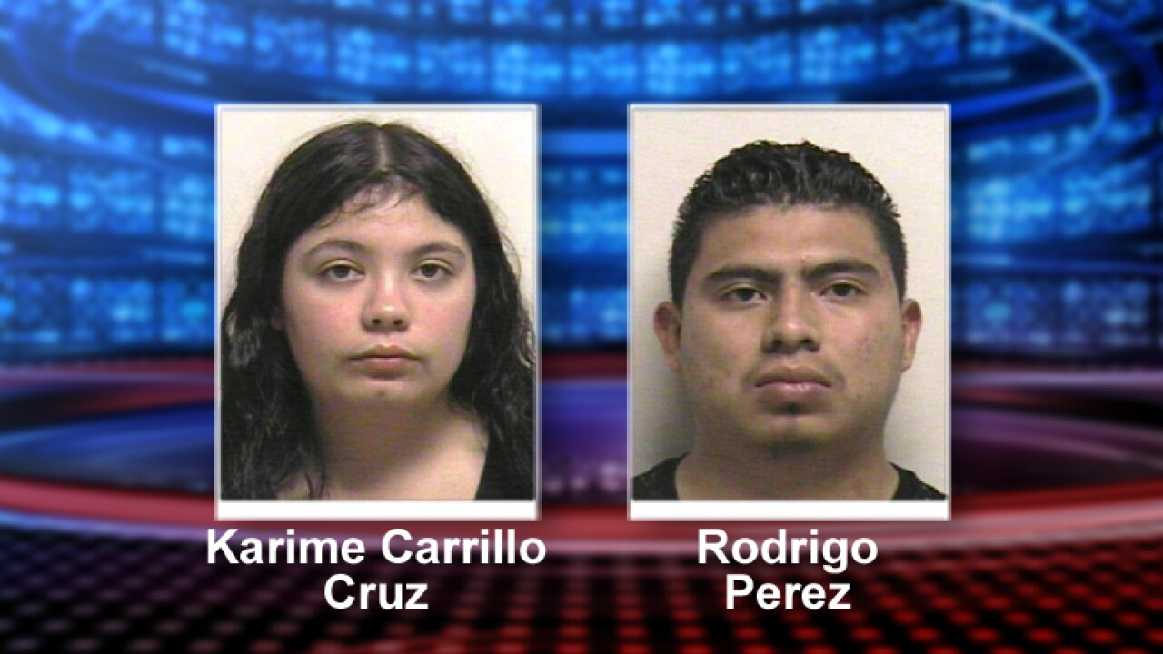 Orem Police arrest pair after finding 22 pounds of pot during traffic stop