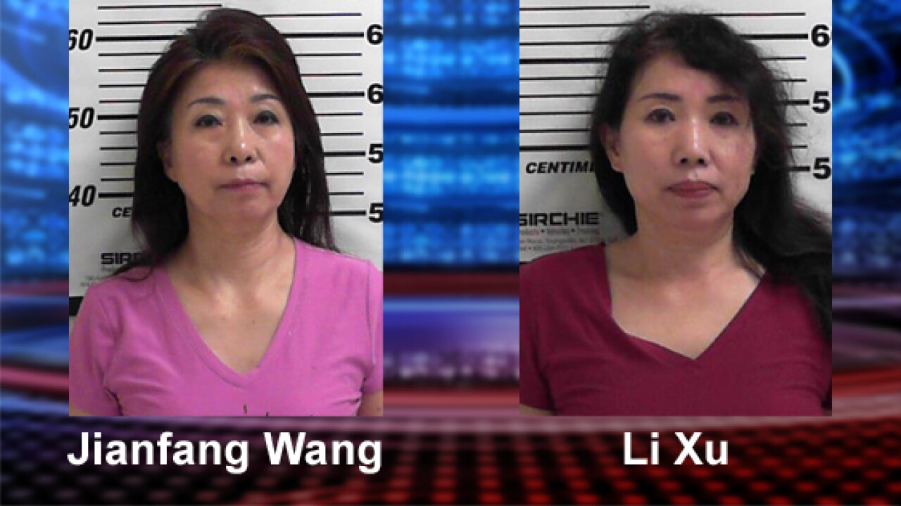 Two arrested in sexual solicitation investigation at Layton massage parlor