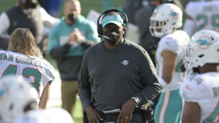 Marion Hobby, Miami Dolphins defensive line coach in 2020