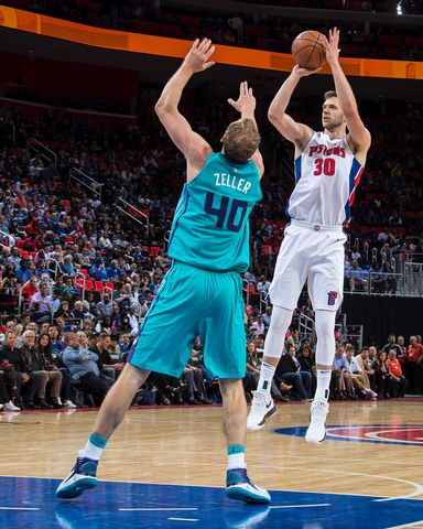 Photo gallery: Detroit Pistons win in Little Caesars home opener
