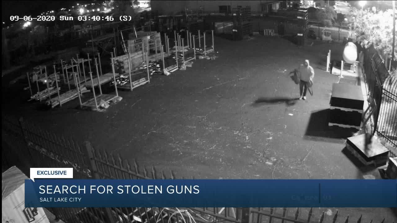 Persons of interest in Utah gun burglaries
