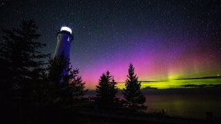 Northern Lights could be visible over Michigan tonight