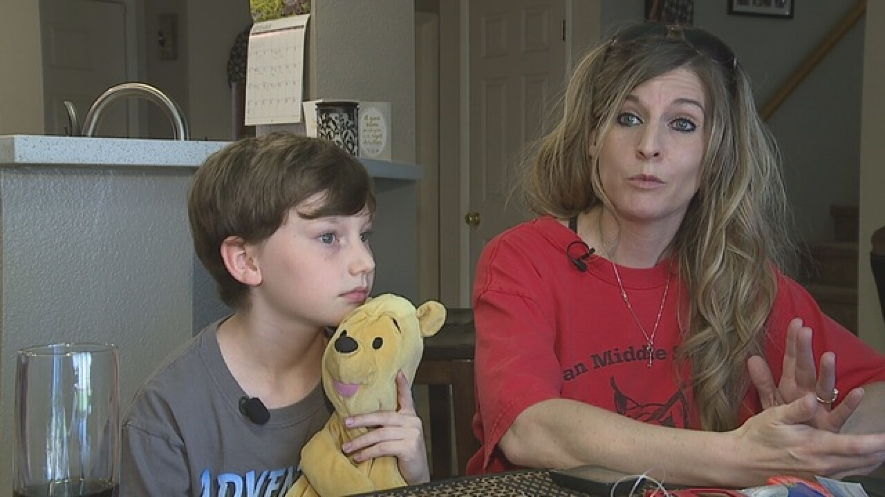 Vegas Mom has lingering concerns over 911 call