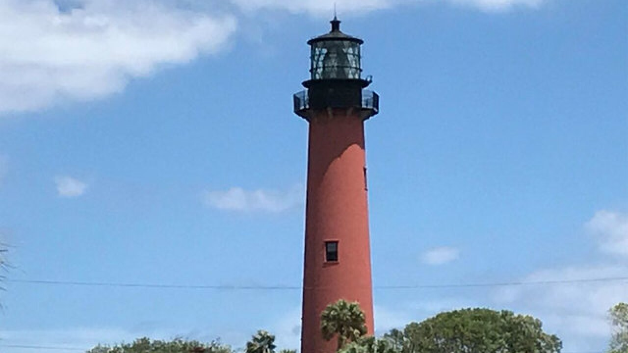 Jupiter Inlet Lighthouse sunset tour Wednesday night