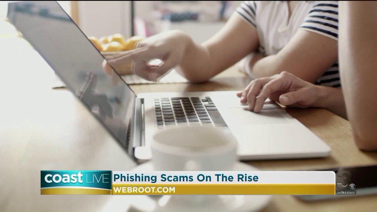 Tips for avoiding phishing scams on CoastLive