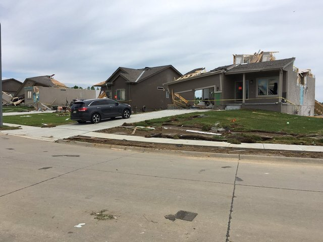 PHOTO GALLERY: EF-1 Tornado touches down in Bellevue