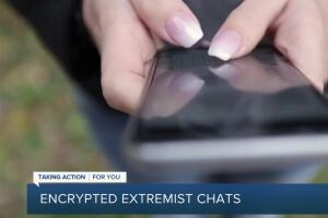 Extremists turn to encrypted apps after social media crackdowns