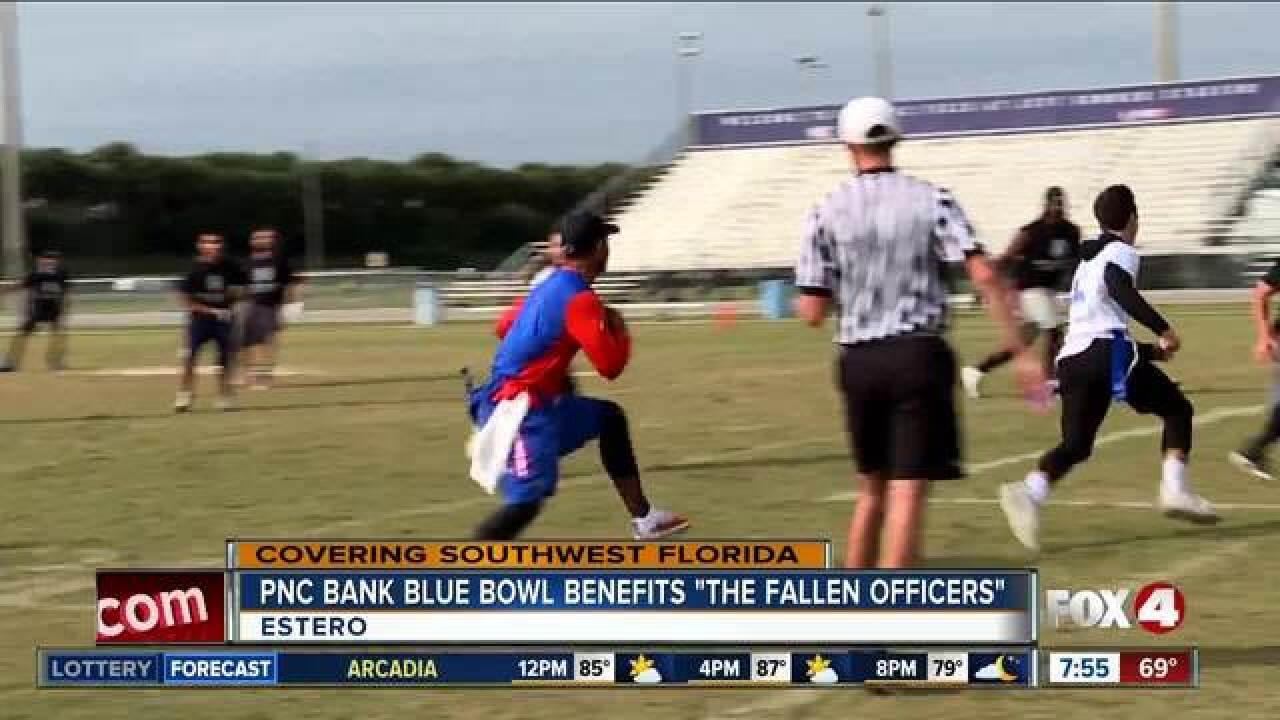 Flag football tourney benefits fallen officers