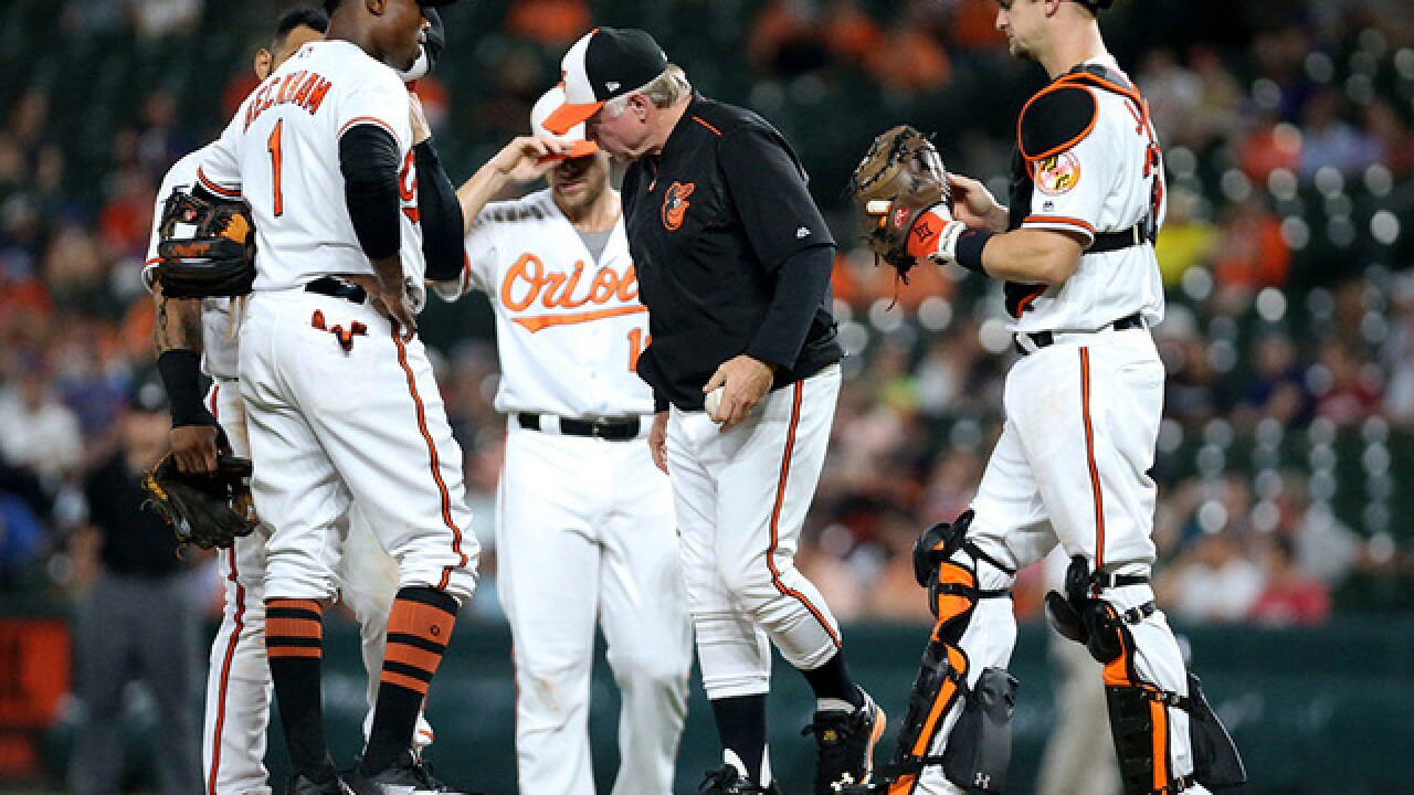 Buck Showalter out as Orioles manager