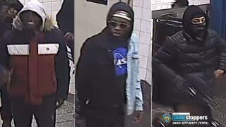 subway robbery suspects