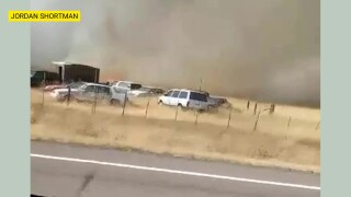 Fire scorches at least 20 acres near Fort Shaw