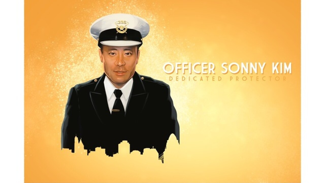 One year later: Officer Sonny Kim remembered