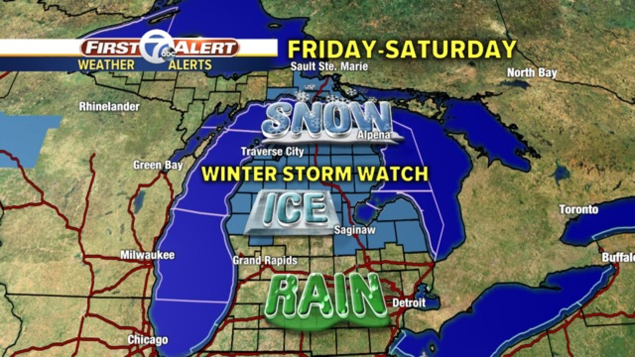 Another round of winter weather in store for parts of Michigan