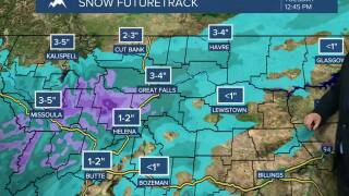 Some snow expected this afternoon through the morning