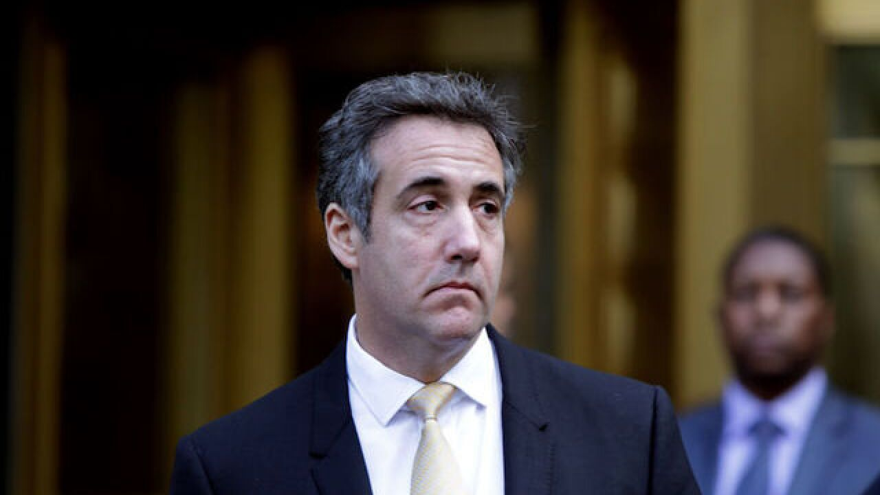 Michael Cohen meets with prosecutors investigating Trump's family business, charity