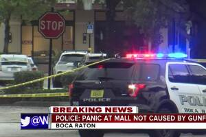 Panic at Town Center at Boca Raton injures one person