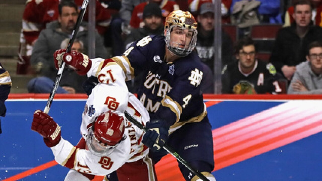 St. Joe's alum, Dennis Gilbert, signs entry-level contract with Chicago Blackhawks
