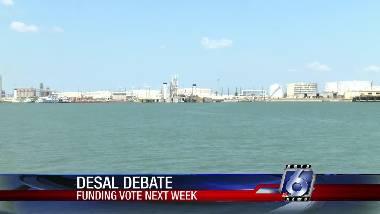 Council approves desalination loan