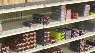 Ammo on store shelves